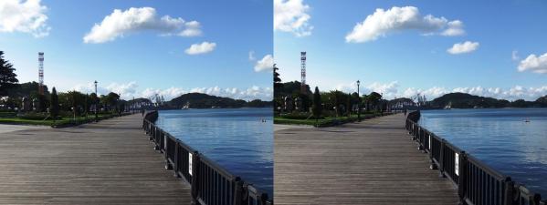 横須賀ヴェルーニ公園②(交差法)