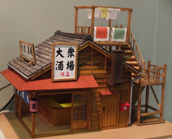 梅ちゃん先生 ジオラマ木工キット完成イメージ