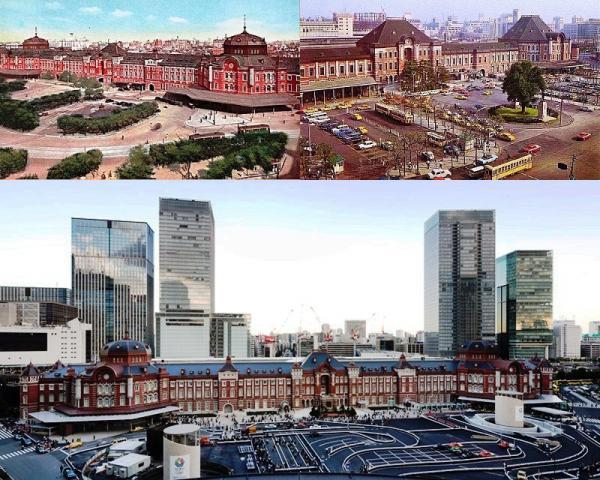 東京駅舎の遍歴