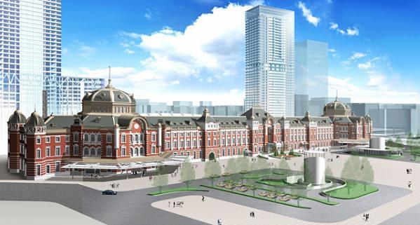 新東京駅舎完成予想イメージ