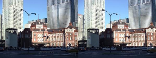 新東京駅舎①(平行法)