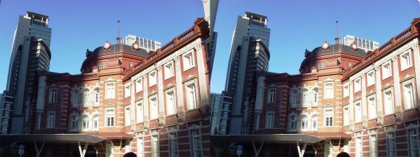 新東京駅舎⑤(平行法)