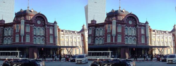 新東京駅舎④(平行法)