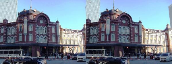 新東京駅舎④(交差法)