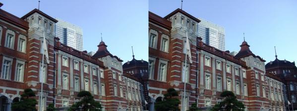 新東京駅舎⑥(交差法)