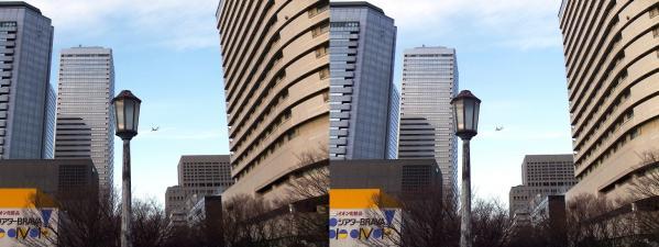 大阪ビジネスパーク④(平行法)
