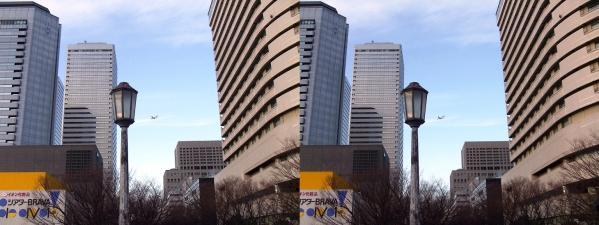 大阪ビジネスパーク④(交差法)