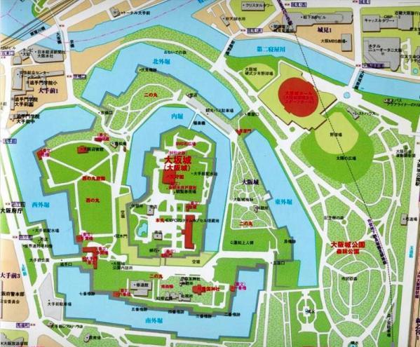 大阪城MAP