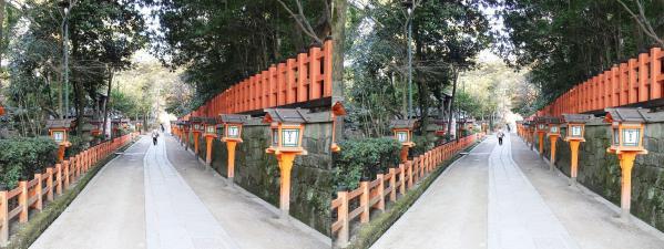 八坂神社⑤(平行法)