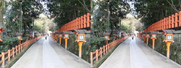 八坂神社⑤(交差法)