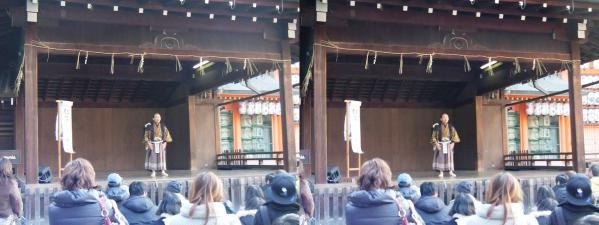 八坂神社③(交差法)
