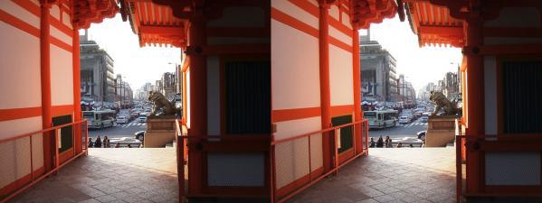 八坂神社②(平行法)