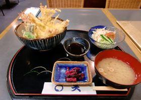 大海老天丼1300円