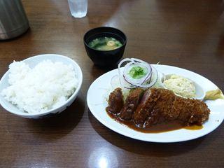 洋食の朝日 ビフカツ