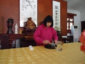 径山寺の交流会