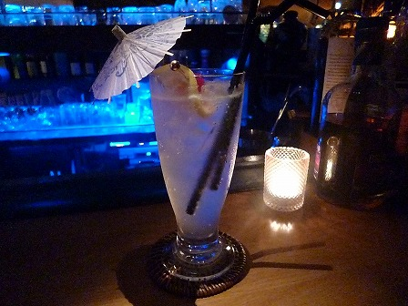 【neo bar】 のレモンスカッシュ