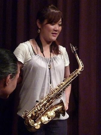Asax横山未希さん