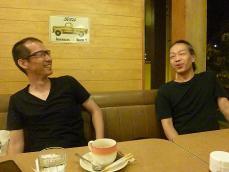 g村山義光氏と東京からお越し頂いたお客様と
