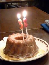 vo緒方光代さんバースデイケーキ