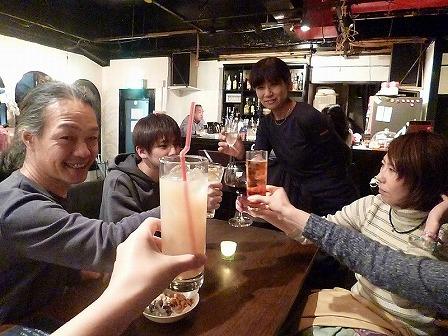 西九条気前【Heart Brake Cafe】でのg村山義光氏と受講者の皆様