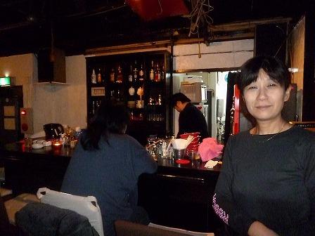 西九条気前【Heart Brake Cafe】のオーナーママのあっこさん