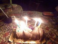 vo播摩有紀さんが買ってきてくれた。どなたかのバースデイケーキ