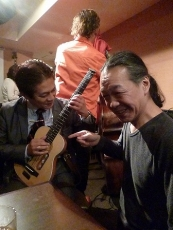 g村山義光氏とベイズンストリートの川崎オーナー