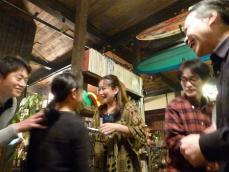 ギター少女親子は愛媛県から。vo小柳淳子さんg村山義光氏お世話になった企画者の白川さん