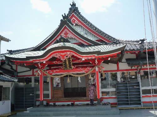 荒熊稲荷神社の御朱印3