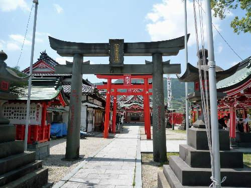 荒熊稲荷神社の御朱印1
