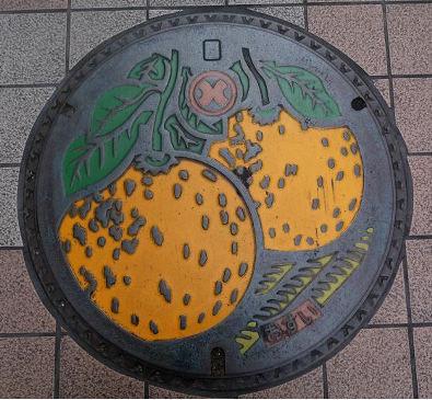 愛しのマンホール126・熊本県八代市