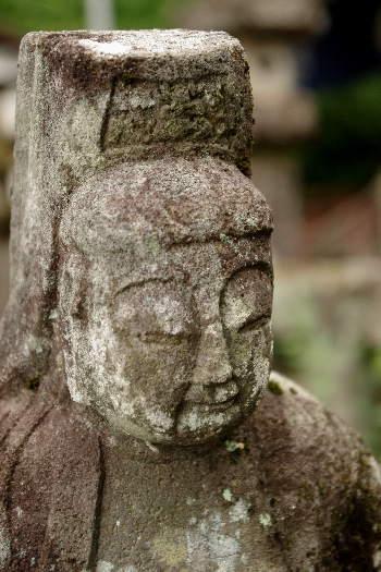 宝地院の石仏2