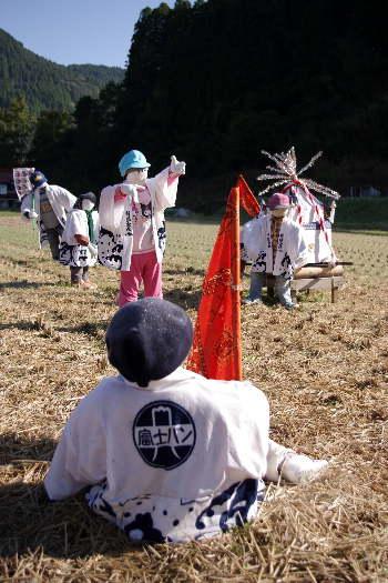 癒しの「やまくにかかしワールド」2012~子どもワールドその13