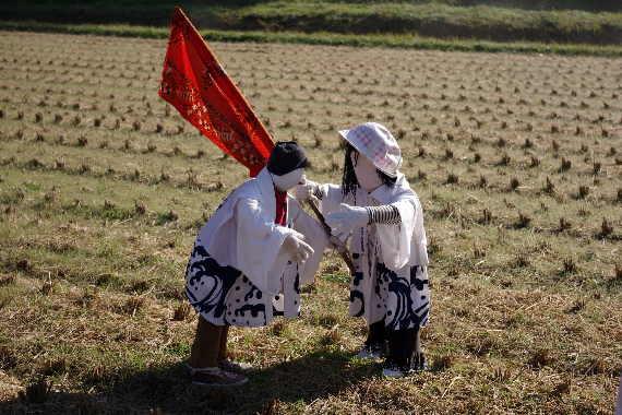 癒しの「やまくにかかしワールド」2012~子どもワールドその14