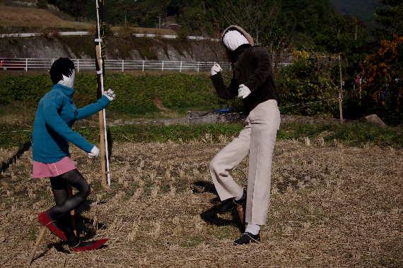 癒しの「やまくにかかしワールド」2012~ステキな村人たち 2