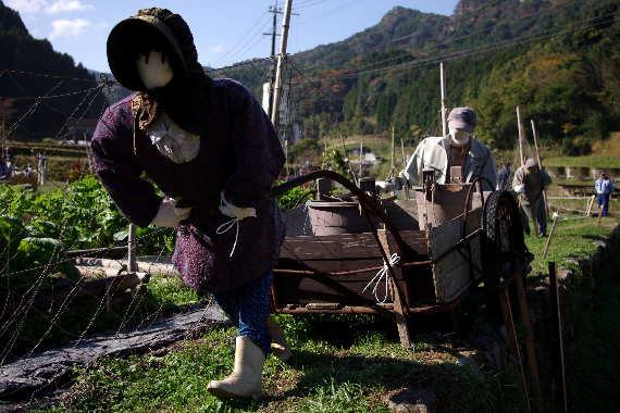 癒しの「やまくにかかしワールド」2012~ステキな村人たち 3