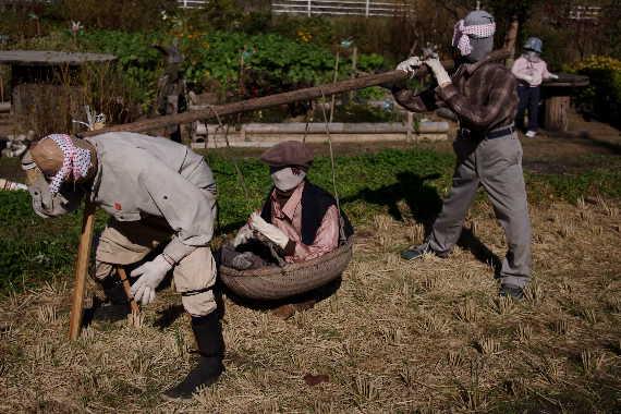 癒しの「やまくにかかしワールド」2012~ステキな村人たち 8