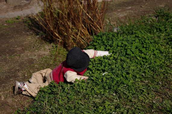 癒しの「やまくにかかしワールド」2012~子どもワールドその16
