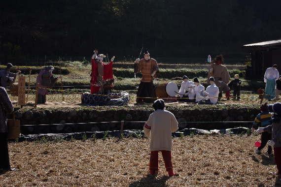 癒しの「やまくにかかしワールド」2012~ステキな村人たち 1