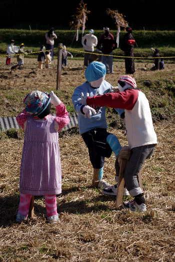 癒しの「やまくにかかしワールド」2012~子どもワールドその22