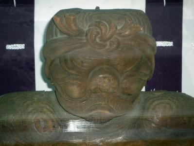 松原神社河童の木像 5