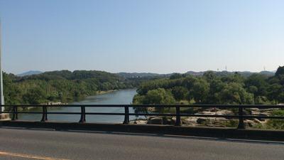 平戸橋から矢作川