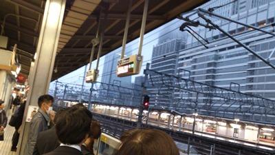 名駅新幹線ホーム