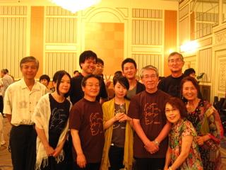 打ち上げ〜モーツァルト200合唱団の皆さんお世話になりました!