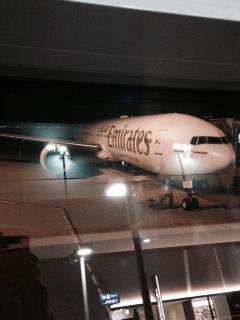 エミレーツ飛行機