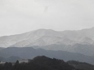 お山は積雪