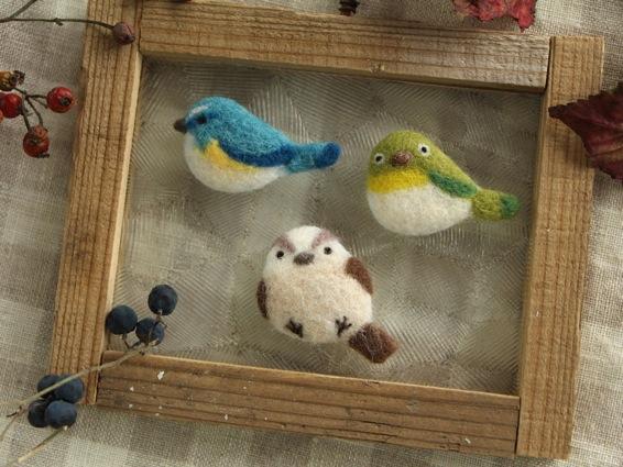 まあるい小鳥