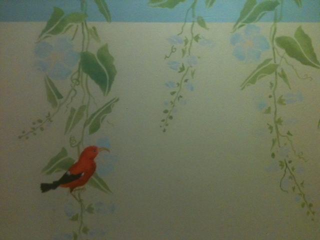 Iiwi on The Wall