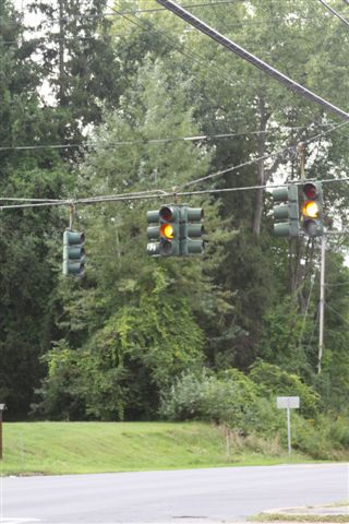 Traffic Lights in Lake George