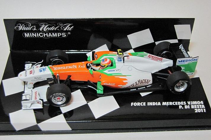 2011 フォース・インディア・メルセデス VJM0...